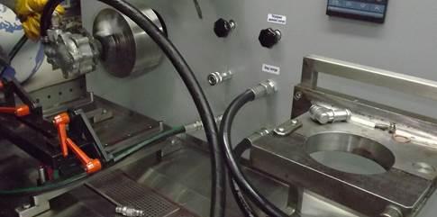 Проверка насоса на стенде
