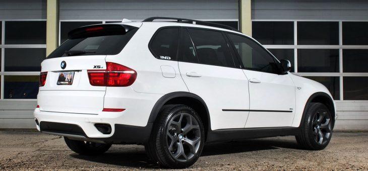 Замена сайлентблоков заднего редуктора на BMW X5 E70