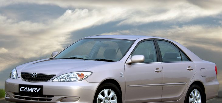 Ремонт задних суппортов Toyota Camry ACV30