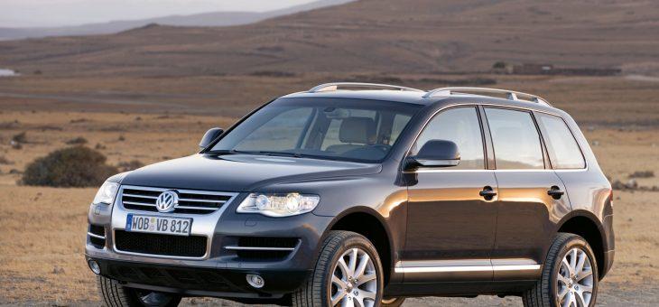 Обслуживание тормозной системы на Volkswagen Touareg 1 поколения